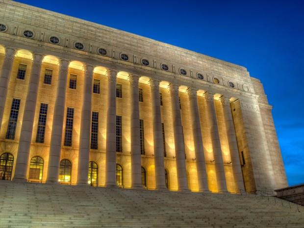 Парламентът на Финландия източник: Уикипедия