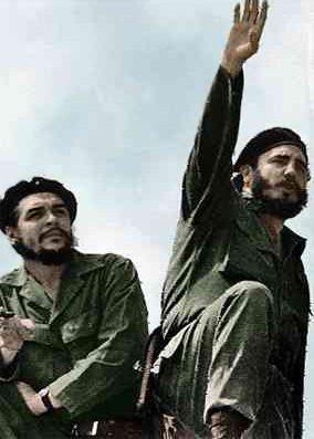 Че Гевара и Фидел Кастро