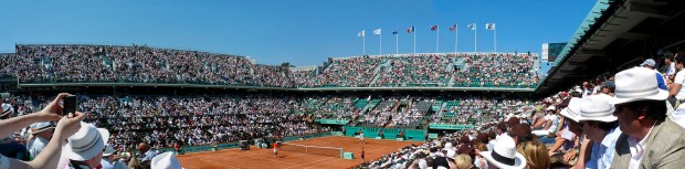 2010 French Open – Court Philippe Chatrier/Flickr.com, Wikipedia