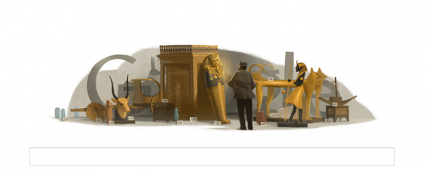 Howard Carter google doodle