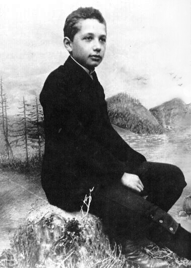 Айнщайн на 14 години