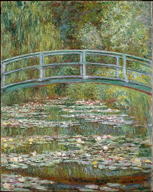 Bridge over a Pond of Water Lilies Claude Monet