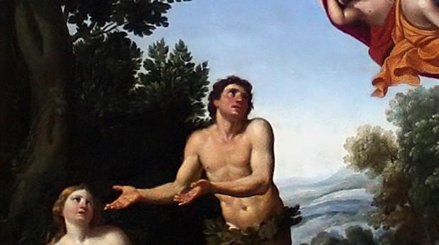 """""""Адам и Ева"""" Доменикино (1581-1641)"""