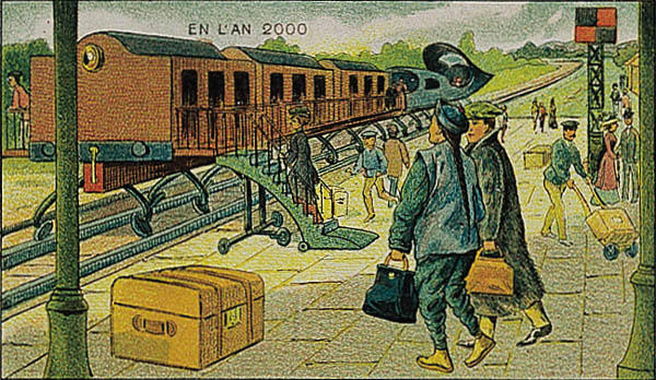 France_in_XXI_Century._Electric_train
