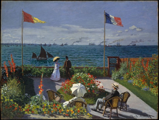 Garden at Sainte-Adresse Claude Monet