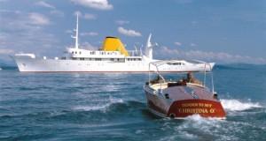 Яхтата на Онасис - Christina O