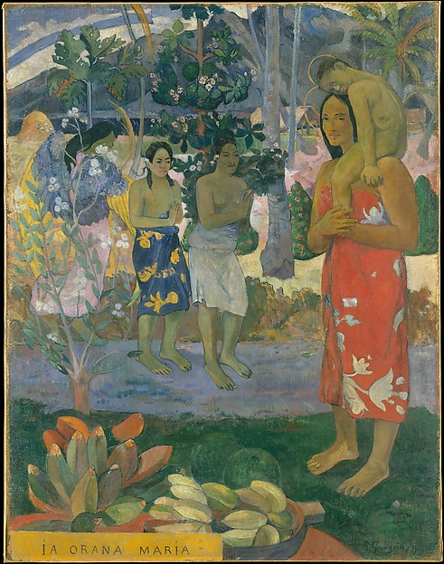 Ia Orana Maria (Hail Mary) Paul Gauguin