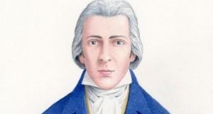 Първият исторически точен портрет на мистър Дарси, направен от  Ник Хардкасъл въз основа на проучване на историци