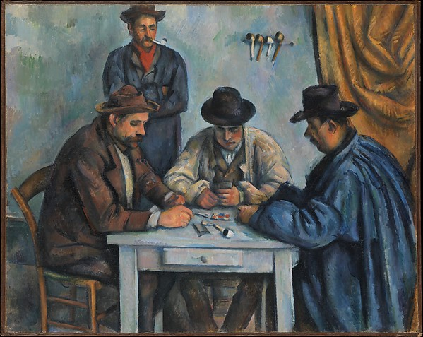 The Card Players Paul Cézanne