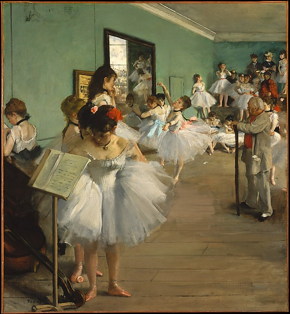 The Dance Class Edgar Degas