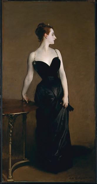 Madame X (Madame Pierre Gautreau) John Singer Sargent