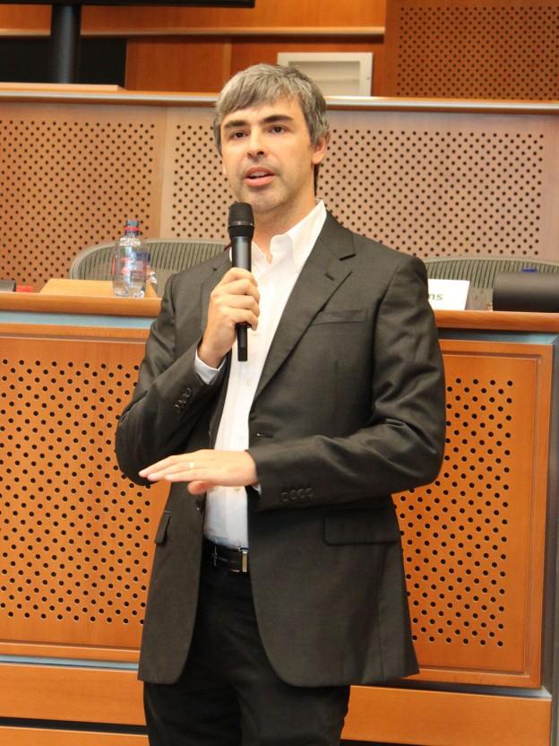 Лари Пейдж - съосновател на Гугъл Майка му е еврейка.  снимка: Marcin Mycielski, European Parliament/Wikipedia