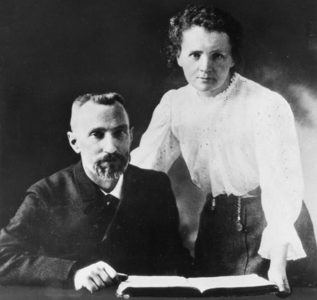 Пиер и Мария Кюри