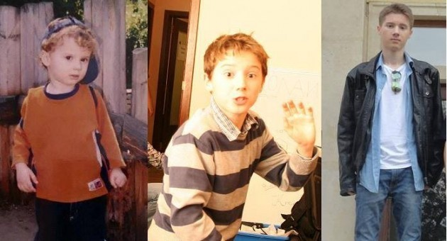 Ники на 1 година, на 11 години, на 14 години, а днес вече и на 18 години