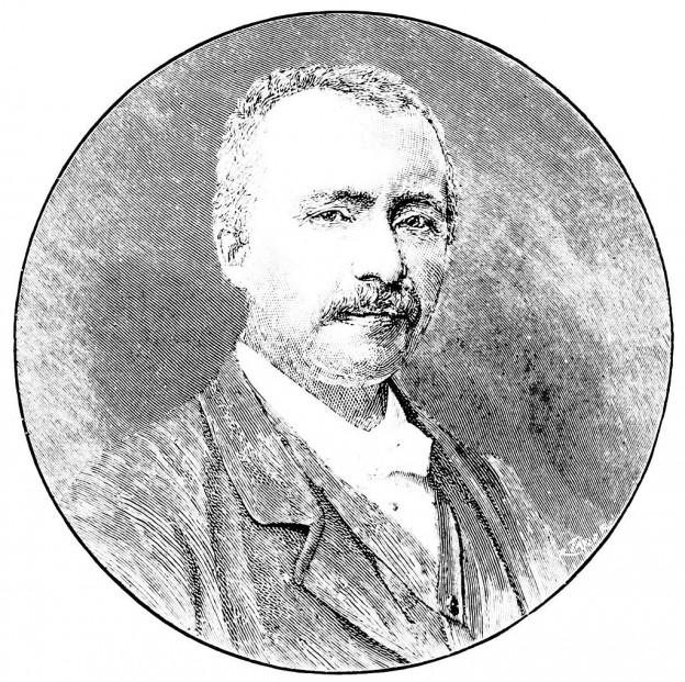Един от последните портрети на Шлиман източник: Уикипедия