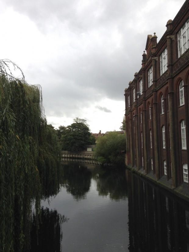 Norwich river Wesum