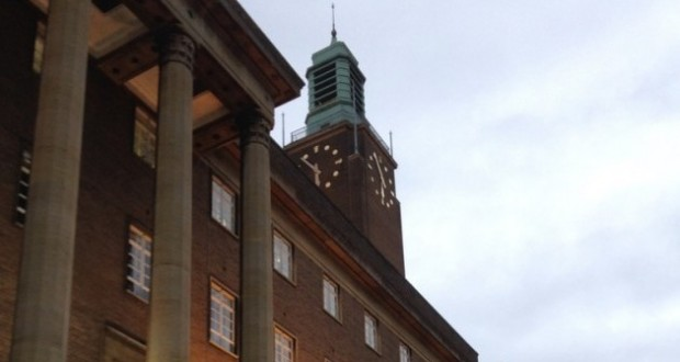 Norwich town hall 1