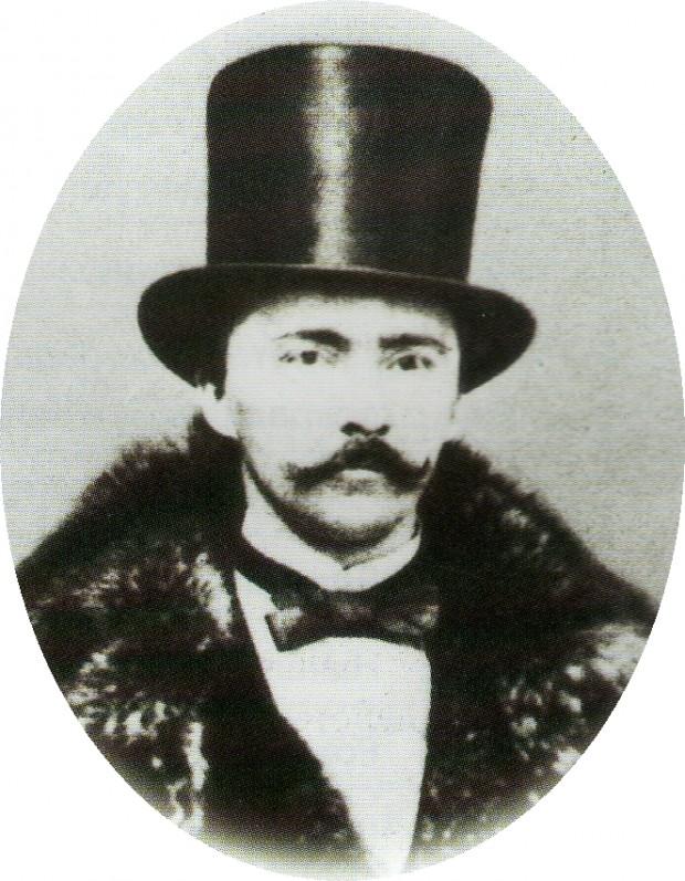 Хайнрих Шлиман на 38 години