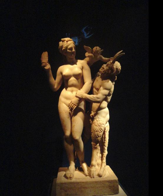 Афродита, Пан и Ерос