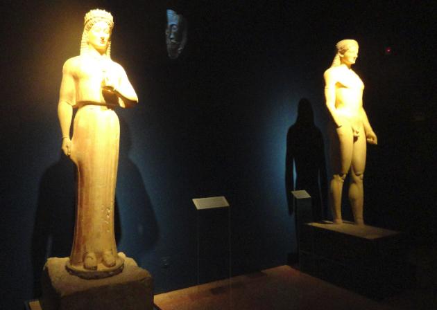 """Кора и Курос Изложба """"Odysseys"""" - тематична ос """"Итака"""" - съюз със смъртта"""