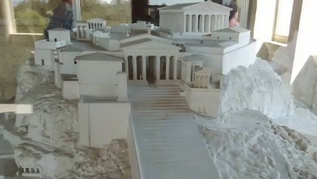 maket acropola