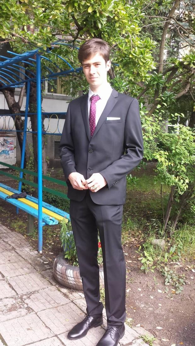 Христо Папазов преди бала