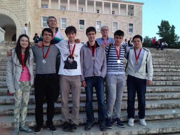 Българският национален отбор на Балканиадата по математика 2016