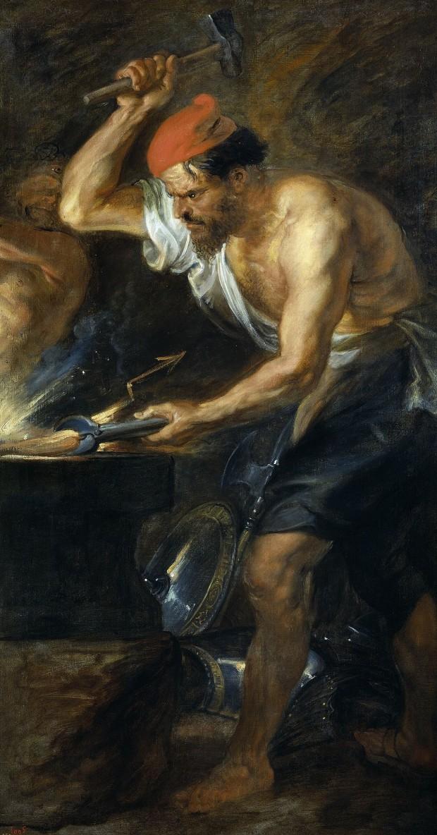 Бог Вулкан, Рубенс