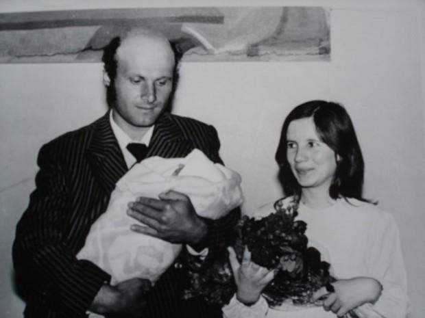 тати, мама и аз