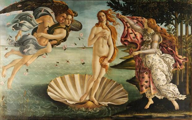 Сандро Ботичели Раждането на Венера