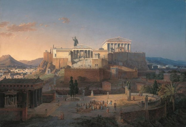 Акрополът  Леополд фон Кленце