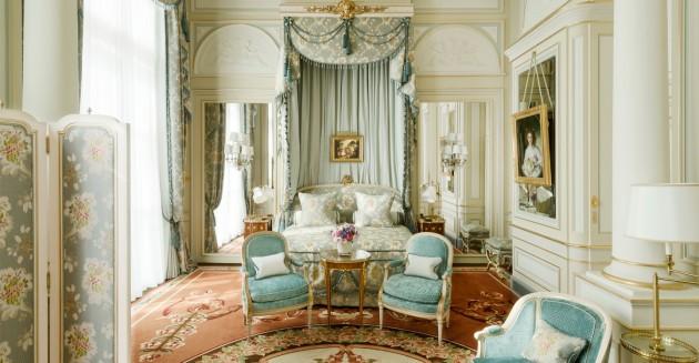 Втора спалня снимка: http://www.ritzparis.com/