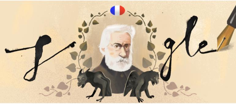 viktor hugo google doodle