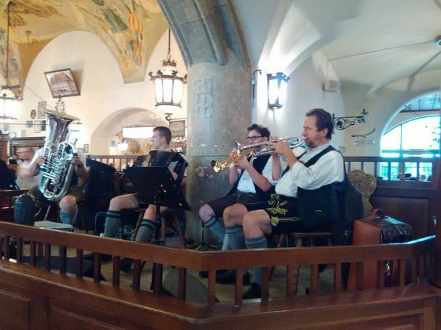 Hofbräuhaus muzikanti