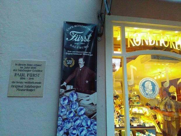 SALZBURG ALTSTADT bonboni mozart