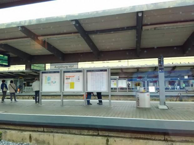 augsburg gara vlak