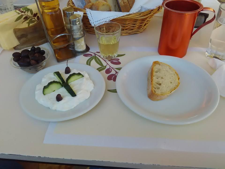 Дзадзики и хлебче