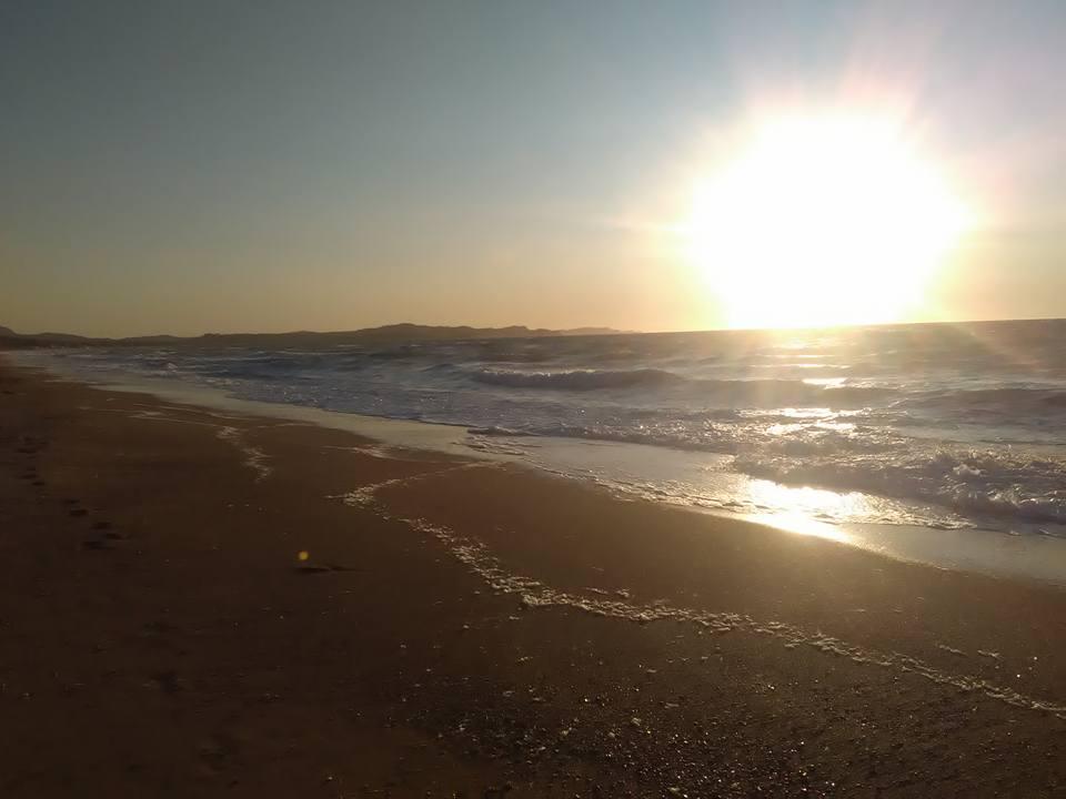 Залезът на остров Корфу