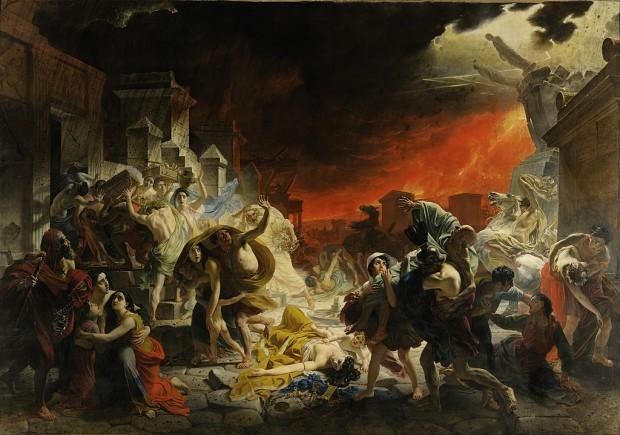 """""""Последният ден на Помпей"""" (1833) Карл Брюлов"""
