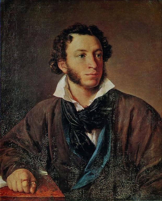 Александър Сергеевич Пушкин, от Василий Тропинин
