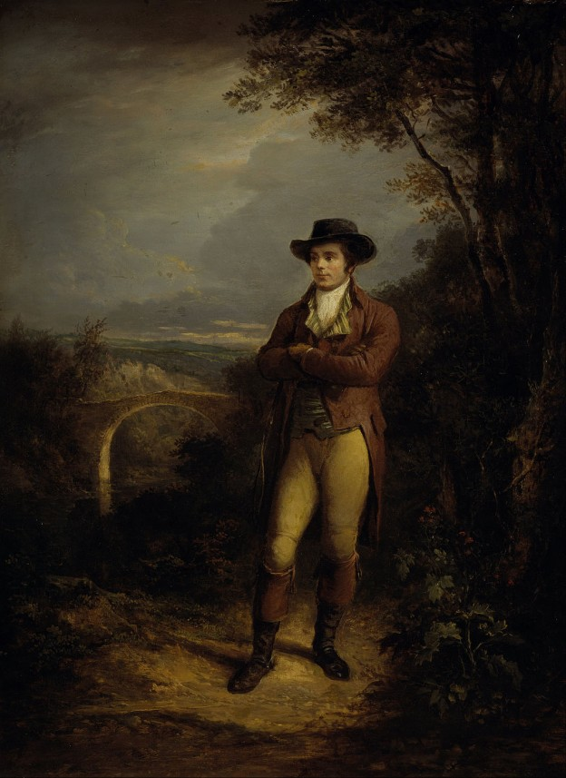 Alexander Nasmyth, Robert Burns (1828).