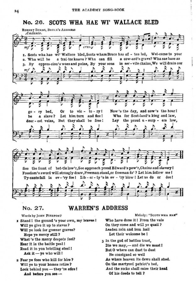 By Scottish folk song from the collection of 1901 [Public domain], via Wikimedia Commons
