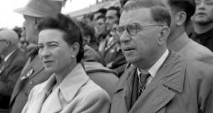Симон дьо Бовоар и Жан-Пол Сартър източник: Уикипедия