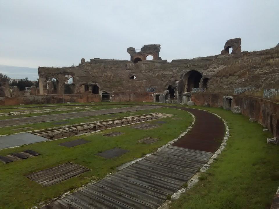 gladiatorska arena capua 62