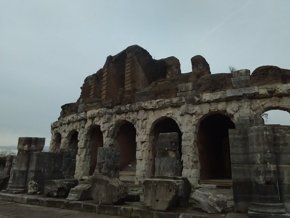 gladiatorska arena capua 79