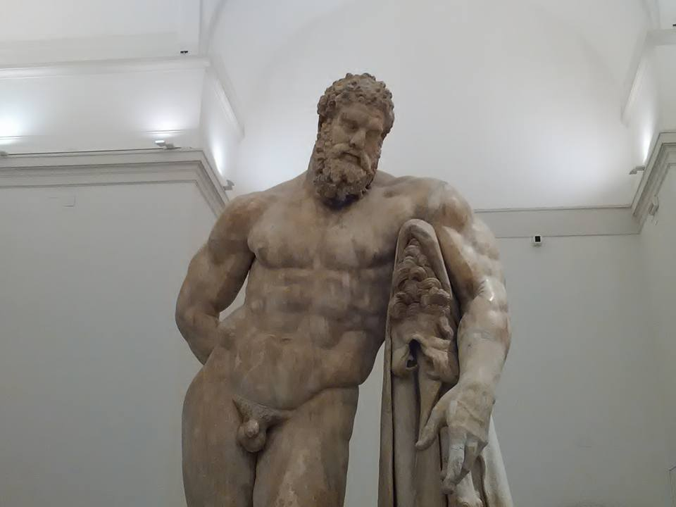 hercules national archaeological museum naples 231
