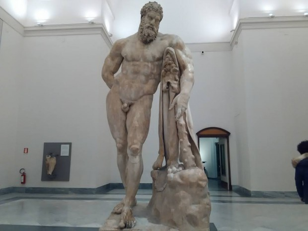 hercules national archaeological museum naples 232