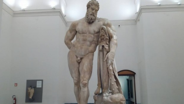 hercules national archaeological museum naples 233