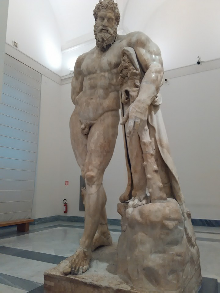 hercules national archaeological museum naples 234