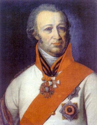 Иван Александрович Загряжски, дядо на Наталия Гончарова